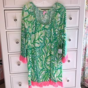 Lilly Pulitzer Getaway Coverup NWT